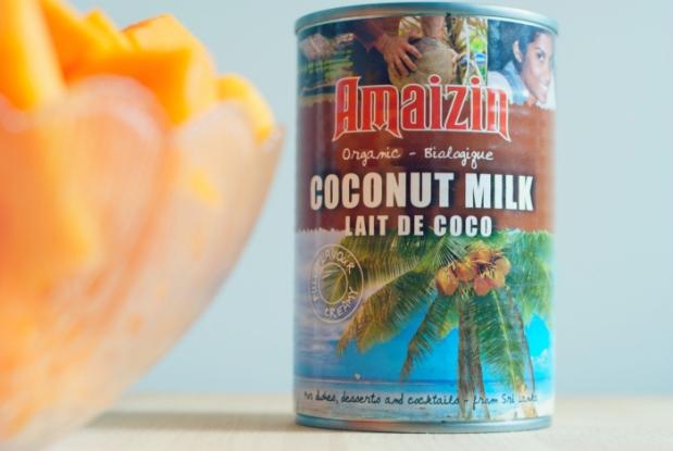 leche de coco organica ecologica