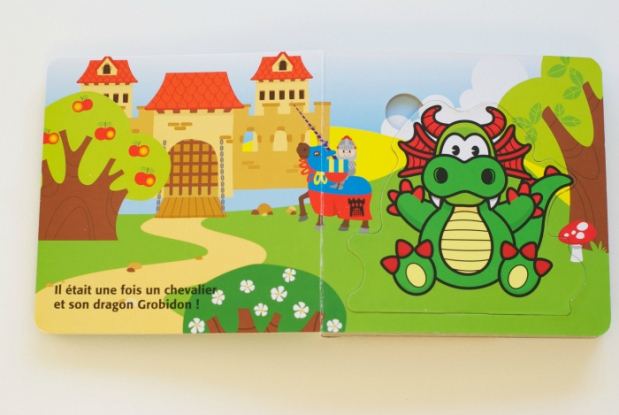 libro infantil en francés para niños trilingües