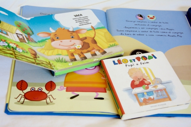 libros para un bebe o niño trilingüe